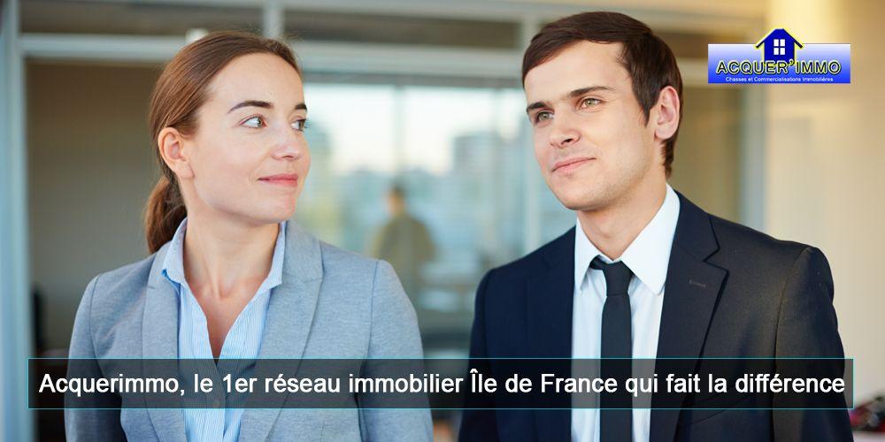 Acquerimmo, le 1er réseau immobilier Ile de France qui fait la différence