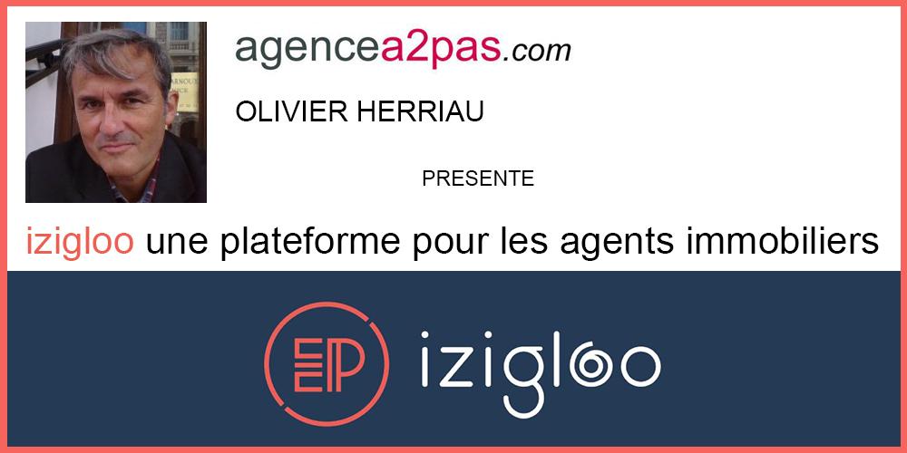 Agencea2pas: Izigloo une plateforme pour les agents immobiliers