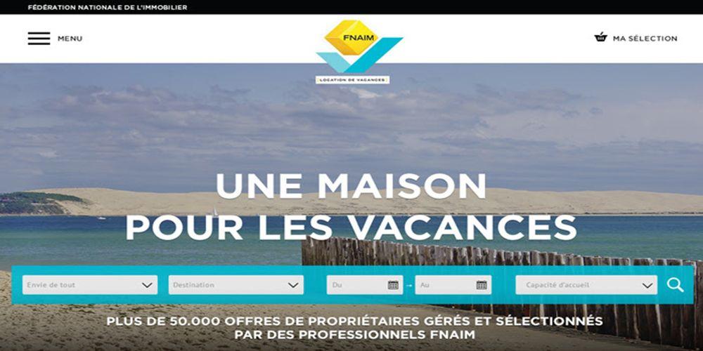 Nouveau site Locations de Vacances FNAIM !