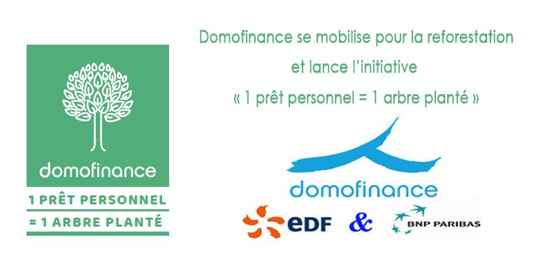 Domofinance s'engage pour la reforestation de la France