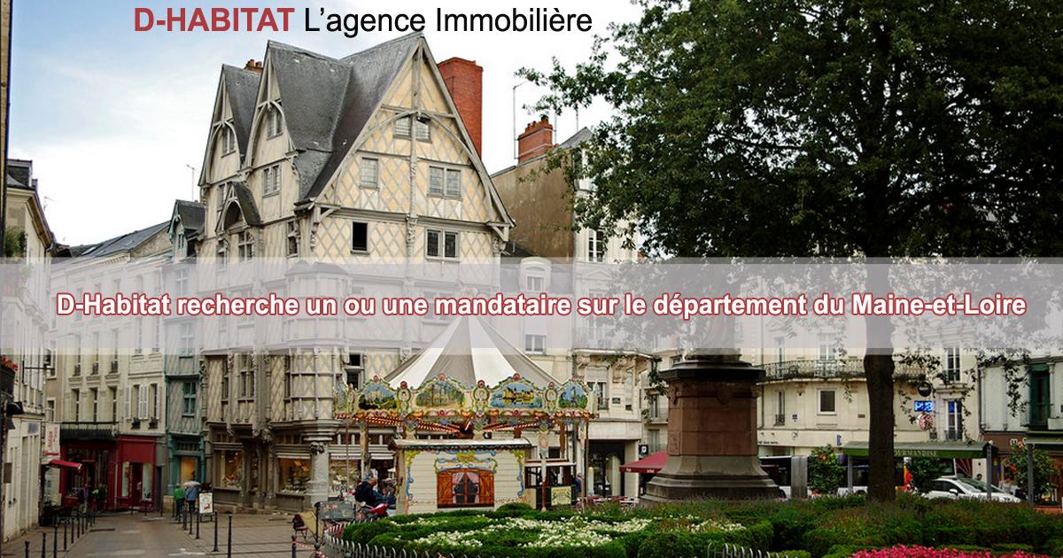 Recrutement de mandataire Indépendant(e) dans le Maine-et-Loire