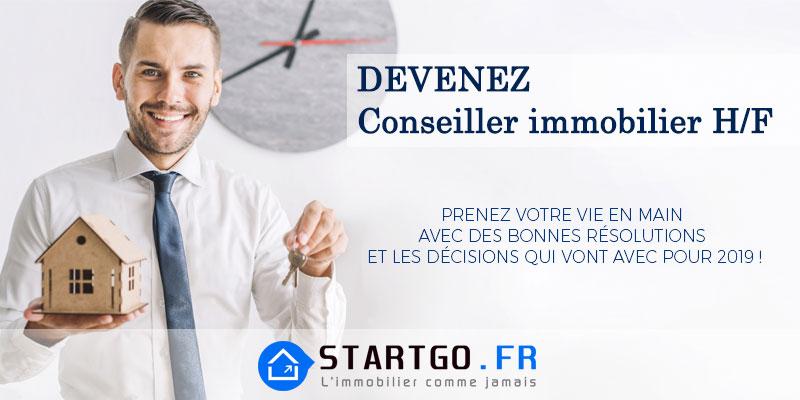 Recrute Conseiller immobilier / Négociateur Immobilier (H/F) STARTGO GROUP sur Montpellier Hérault