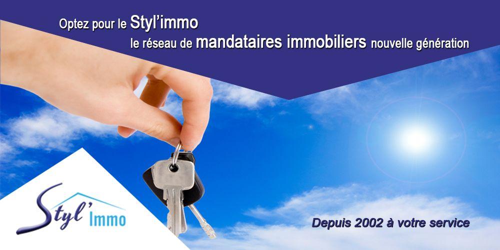 Optez pour le Styl'immo le réseau de mandataires immobiliers nouvelle génération